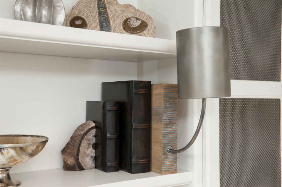 Built In Book Shelf By Liepold Design Group