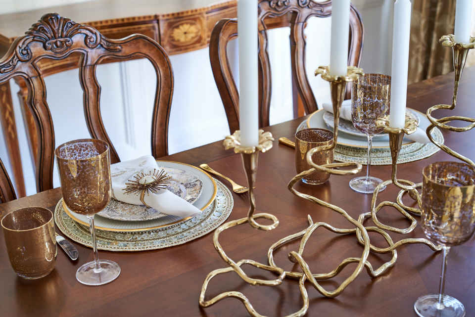 Dining Room Place Settings Design Nj