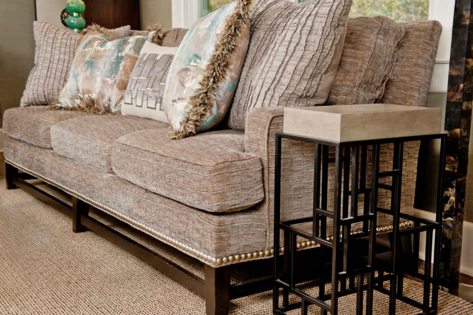 Family Room Formal Couch Interior Design