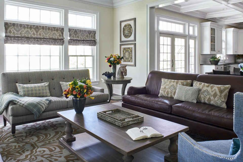 Family Room Interior Design Chatham, Nj