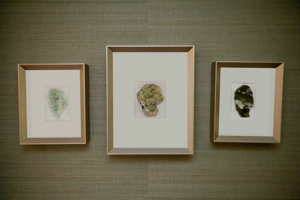 Framed Geode Art Decor Interior Design Nj