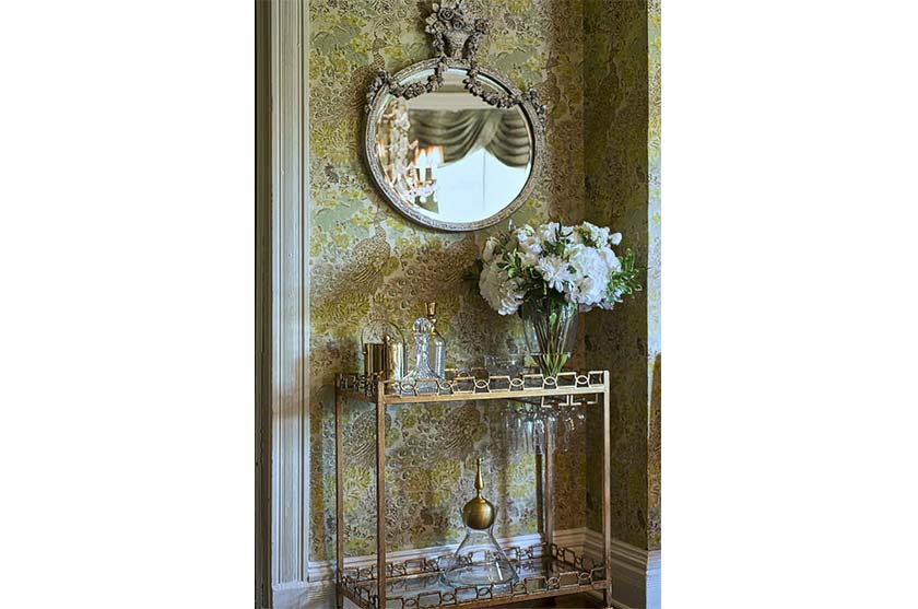 Gilded Mirror Interior Design