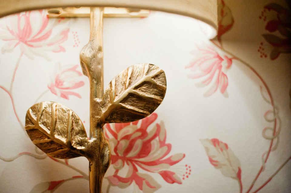 Gold Leaf Accents Interior Design NJ