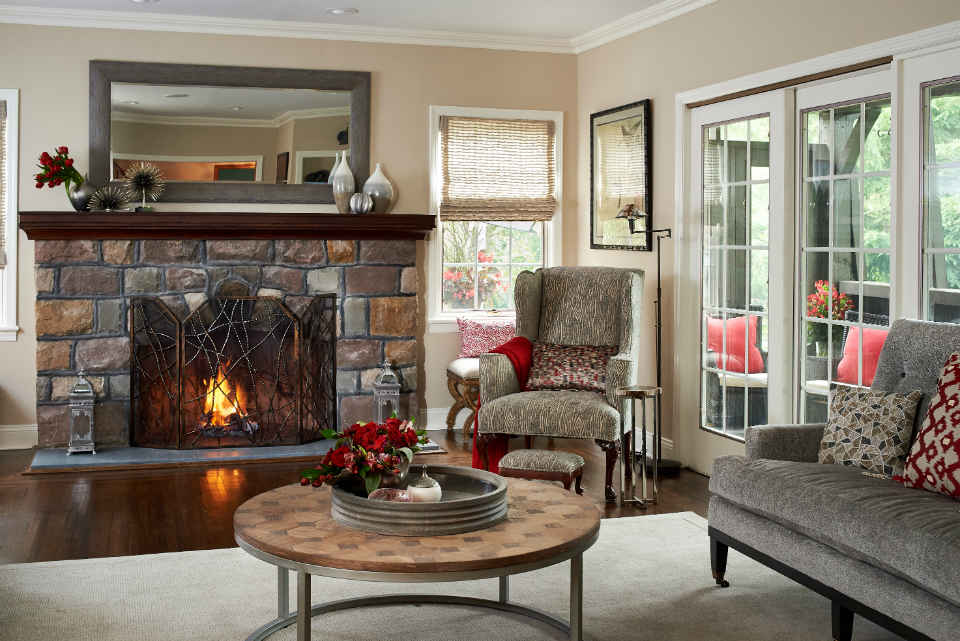Millburn Family Room By Liepold Design Group