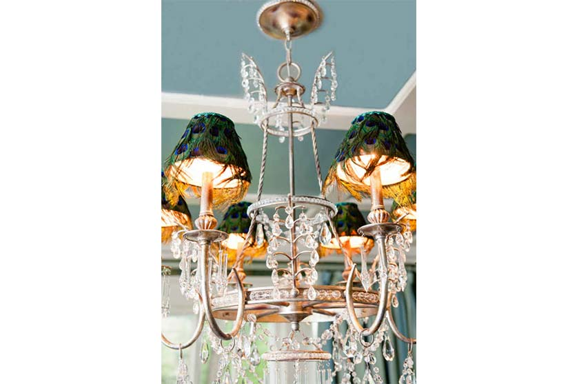 Peacock Chandelier Interior Design By Liepold Design Group