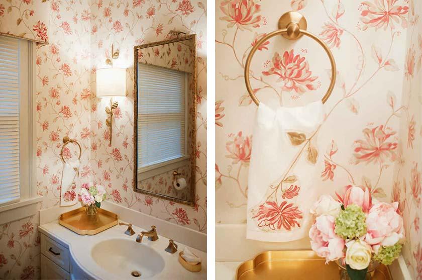 Powder Room Floral Design