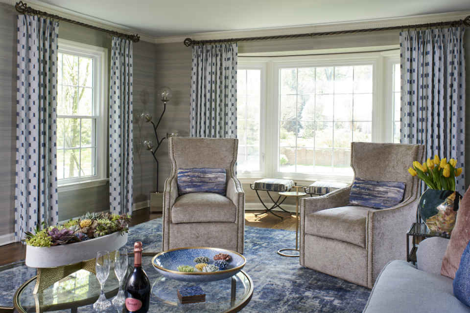 Swivel Chairs Montclair Living Room Interior Design Nj