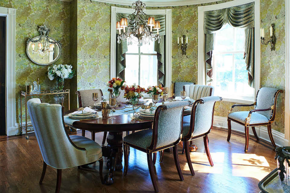 Traditional Dining Room By Liepold Design Group