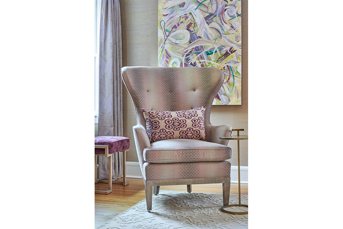 Violet Purple Living Room Chair Design