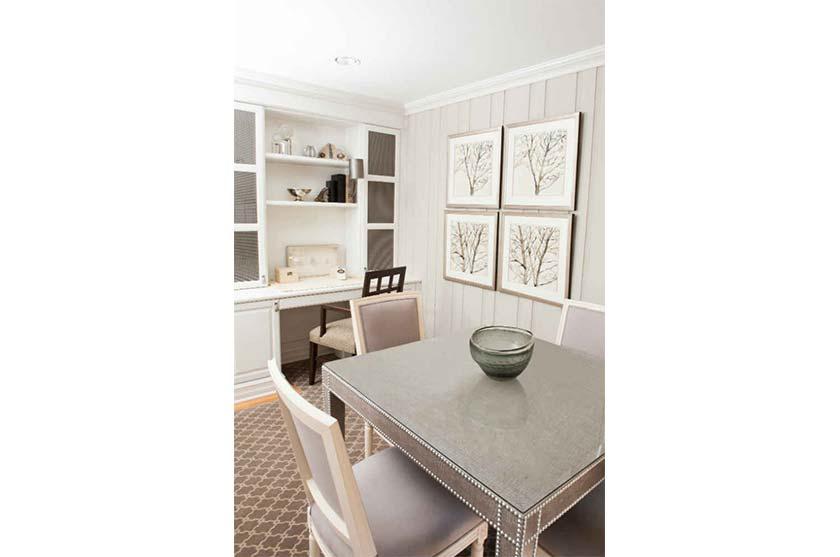 White Clean Classy Interior Design