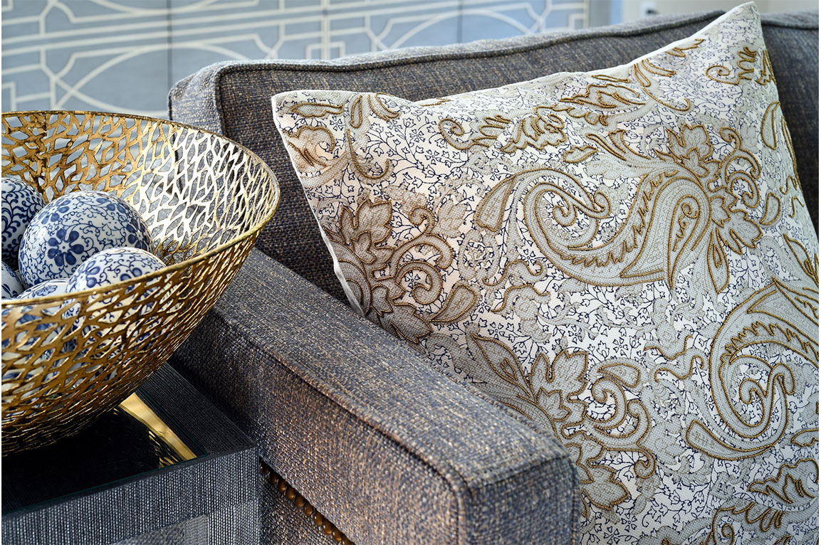 Gold Accents Textile By Liepold Design Group