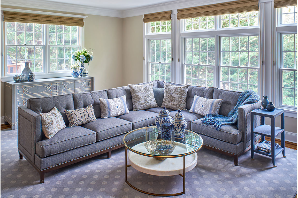 Vintage Modern Lilac Interior Design By Liepold Design Group