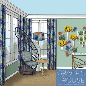 Liepold Design Group Grace's Green Garden Sun Room The Valerie Fund Show House Rendering By Ta Studios